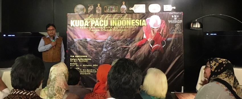 Buku Sejarah Kuda Pacu Indonesia, Dokumentasi 50 Tahun Perjuangan