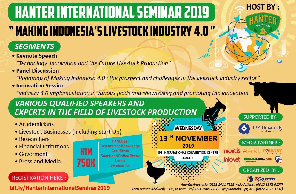 HANTER INTERNATIONAL SEMINAR 2019