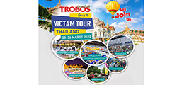 TROBOS Goes to Victam Tour Thailand