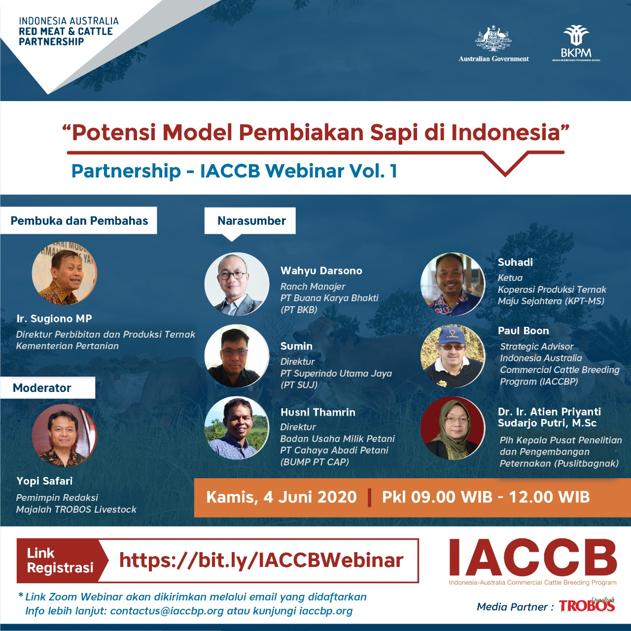 Partnership - IACCB Webinar Vol. 1