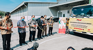 Malindo Ekspor Perdana SunnyGold ke Jepang