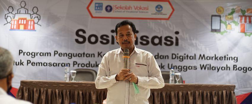 Sekolah Vokasi IPB Sosialisasikan Digital Marketing untuk Peternak Ayam
