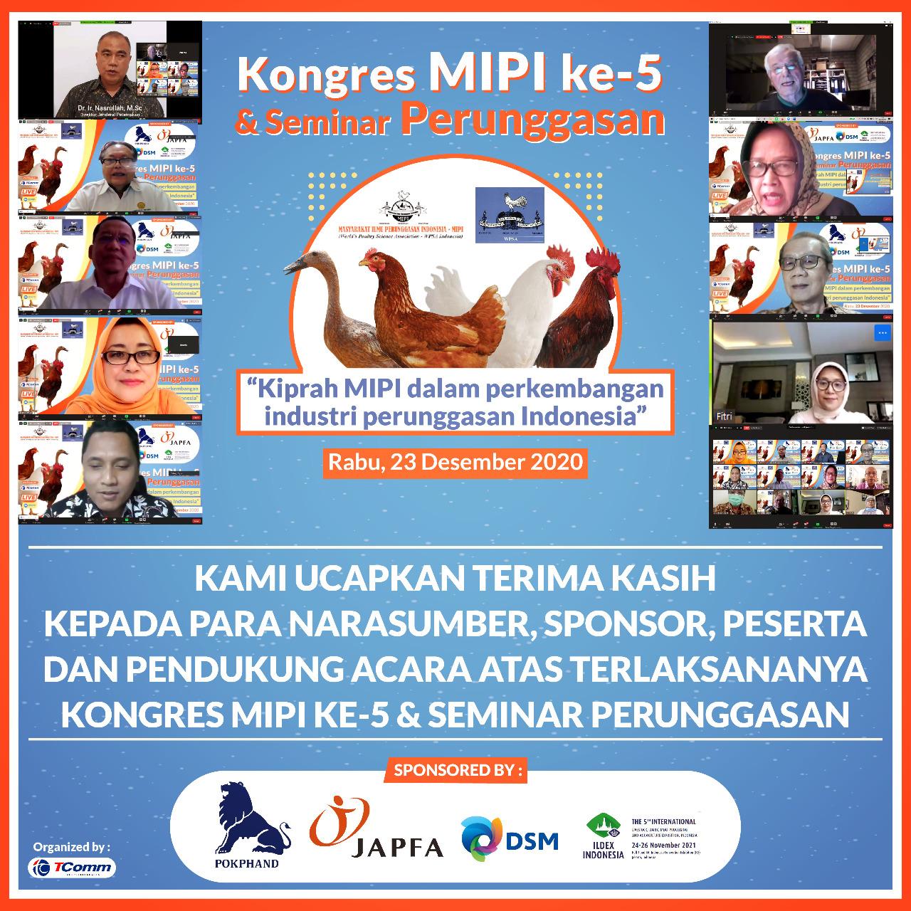 Kongres MIPI ke-5 & Seminar Perunggasan