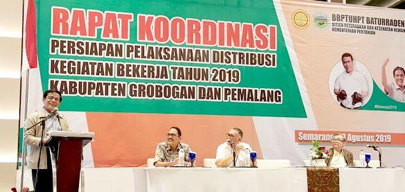 Dipercepat, Distribusi Program Bekerja di Jawa Tengah