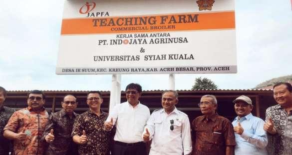 Dukung Pendidikan, JAPFA Bangun Teaching Farm