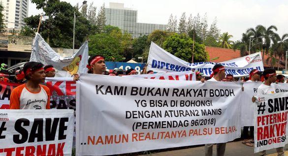 Peternak Unggas Mandiri dan UMKM Kembali Geruduk Kemendag dan DPR RI