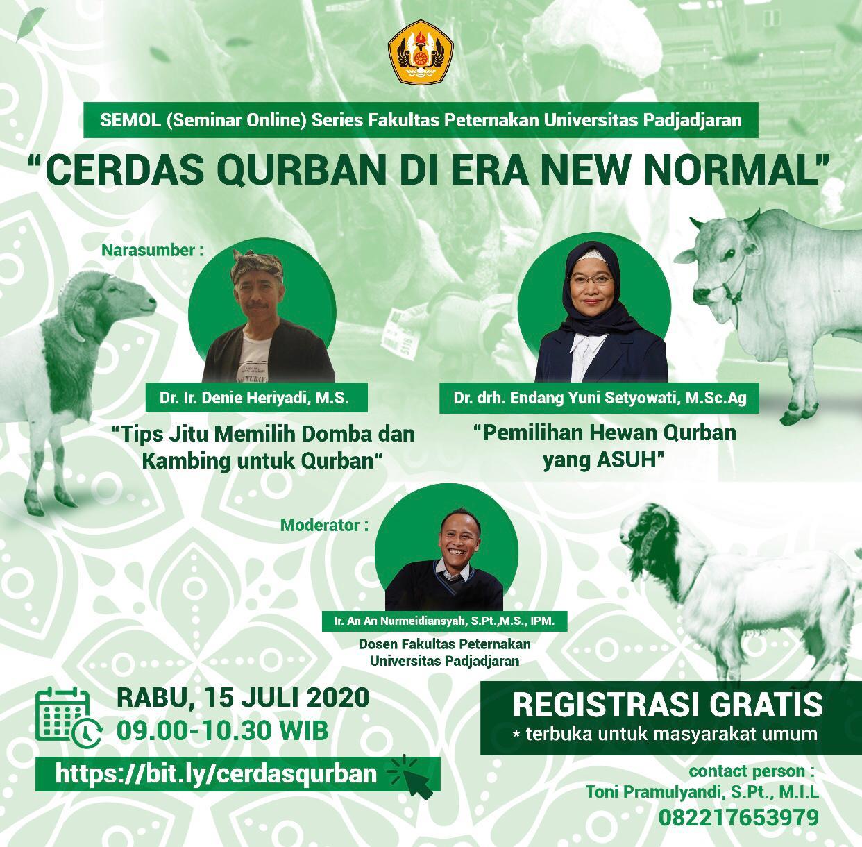 SEMOL (Seminar Online) Fakultas Peternakan Universitas Padjadjaran