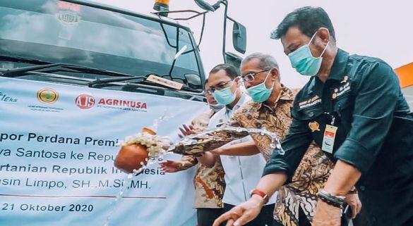Ekspor Perdana Premix Vitamin Agrinusa ke India