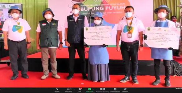 Program Petani Milenial Jawa Barat Angkat Komoditas Burung Puyuh